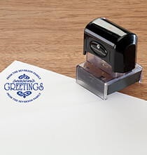 Desktop & Office - Personalized Season's Greetings Stamper