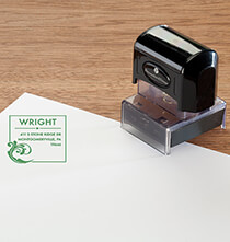 Desktop & Office - Personalized Wave Stamper