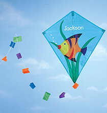 Personalized Unique Gifts - Personalized Children's Fish Kite