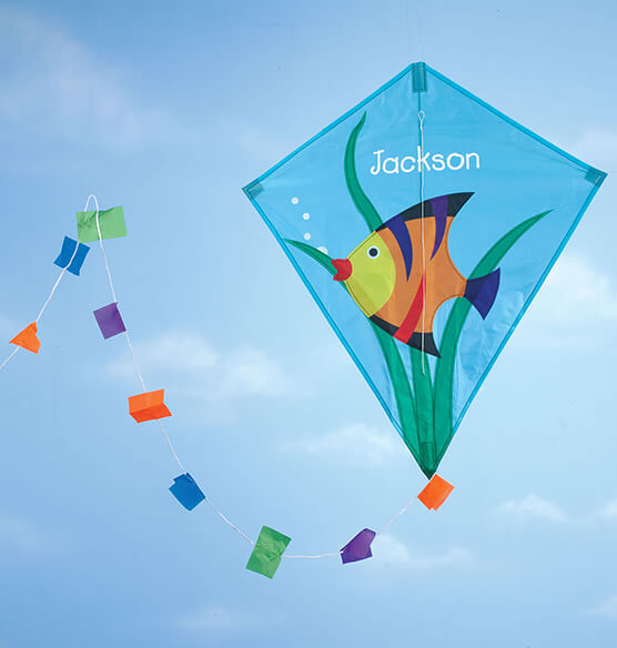 Personalized Children's Fish Kite
