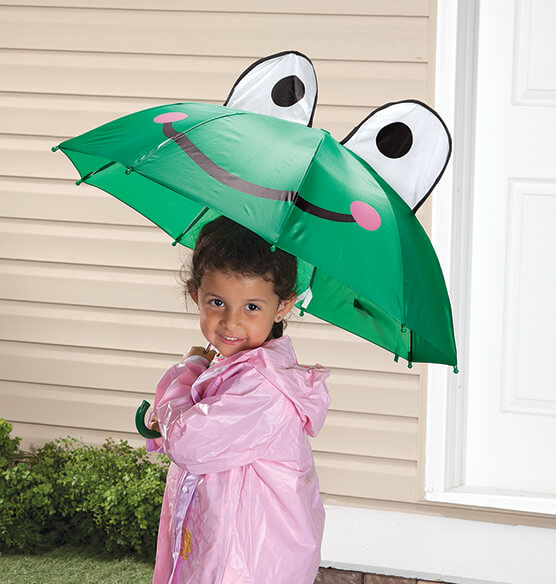 Personalized Children's Frog Umbrella