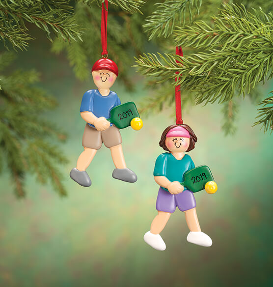 Personalized Pickleball Ornament