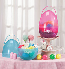 Personalized Giant Fillable Easter Egg
