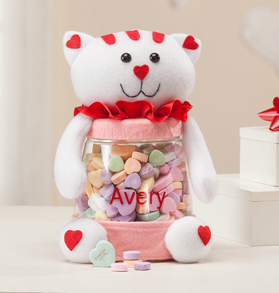 Personalized Valentine's Day Treat Jars