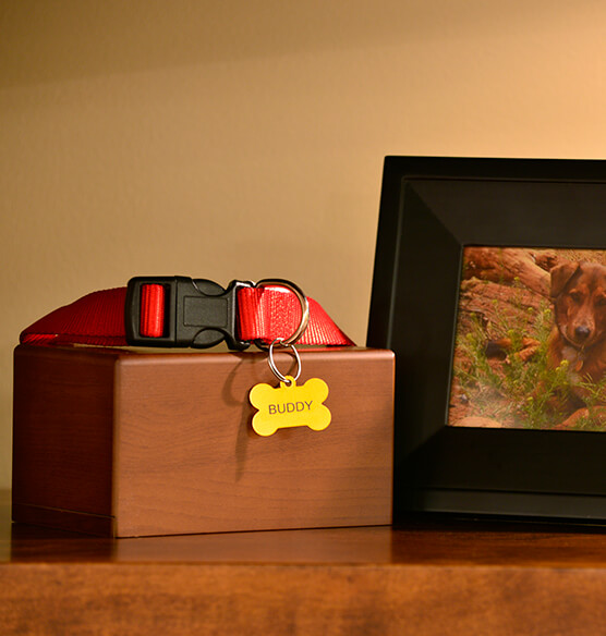 Personalized Box Pet Urn