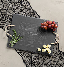 Personalized Fortune Teller Slate Serving Tray