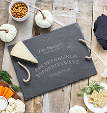 Personalized Spirit Board Slate Serving Tray