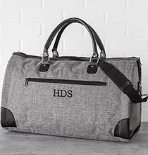 Accessories for Him - Personalized Convertible Garment Bag