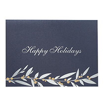 Holiday Cards - Holiday Berries Christmas Card Set of 18