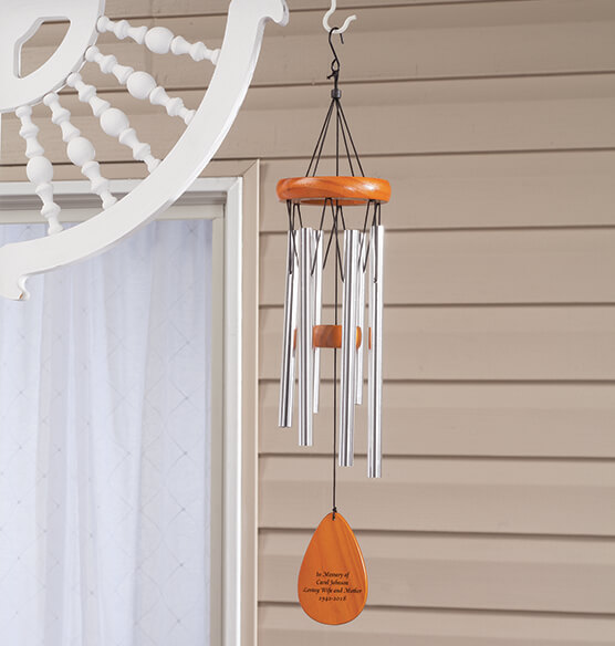 Personalized Wooden Windchime