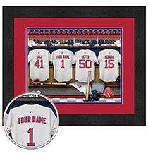 Wall Décor - Personalized Locker Room Boston Red Sox