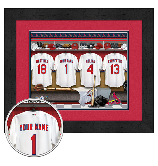 Personalized Locker Room St. Louis Cardinals