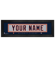 Personalized Nameplate Detroit Tigers