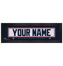 Wall Décor - Personalized Nameplate Minnesota Twins