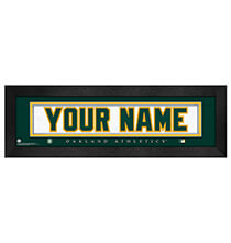Personalized Nameplate Oakland Athletics