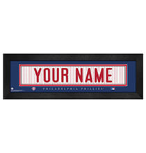 Wall Décor - Personalized Nameplate Philadelphia Phillies