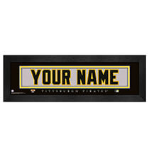 Wall Décor - Personalized Nameplate Pittsburgh Pirates