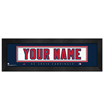 Wall Décor - Personalized Nameplate St. Louis Cardinals
