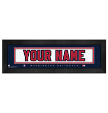 Wall Décor - Personalized Nameplate Washington Nationals