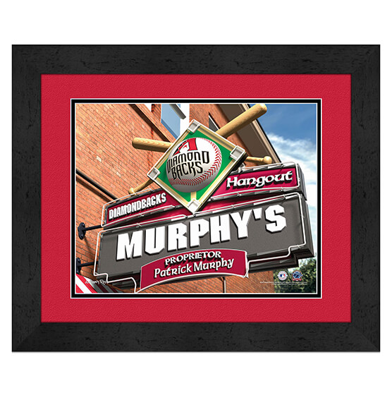 Personalized Pub Sign Arizona Diamondbacks