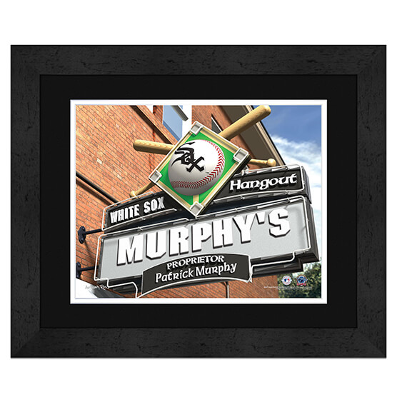 Personalized Pub Sign Chicago White Sox