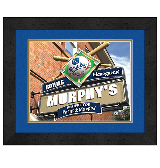 Personalized Pub Sign Kansas City Royals