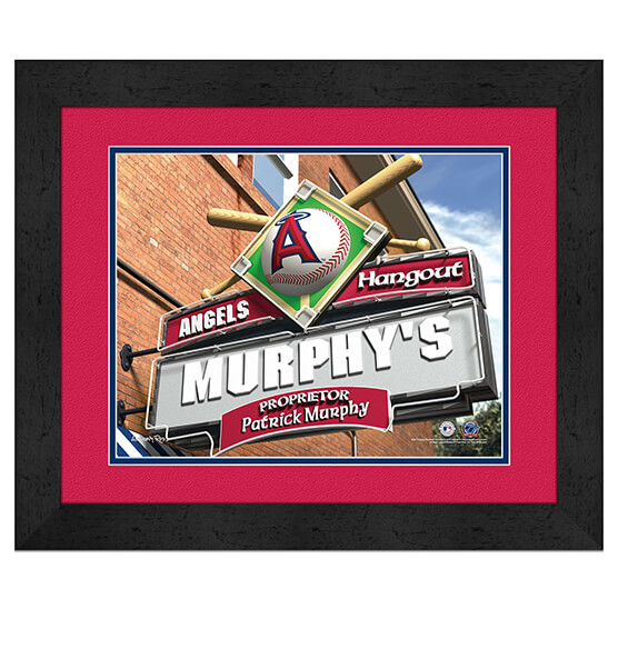 Personalized Pub Sign Los Angeles Angels