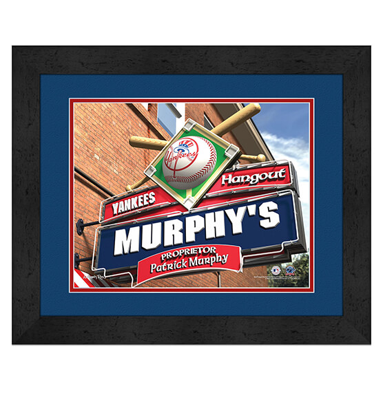 Personalized Pub Sign New York Yankees
