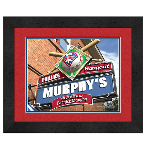 Personalized Pub Sign Philadelphia Phillies