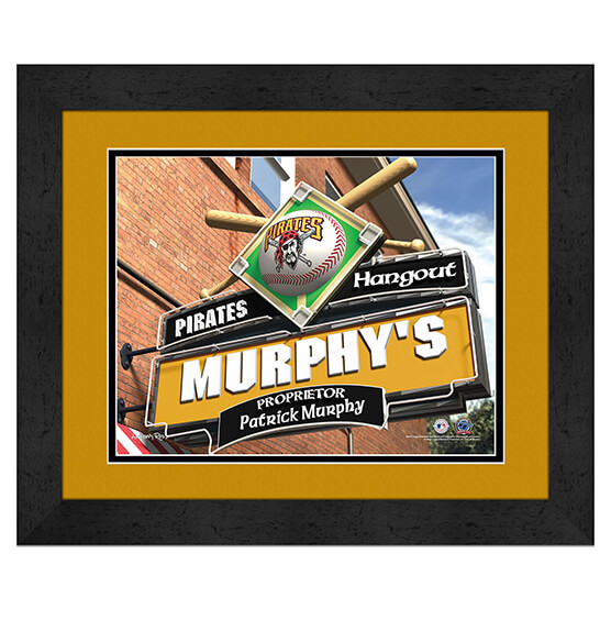 Personalized Pub Sign Pittsburgh Pirates