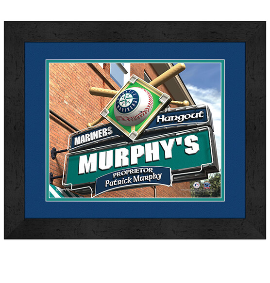 Personalized Pub Sign Seattle Mariners