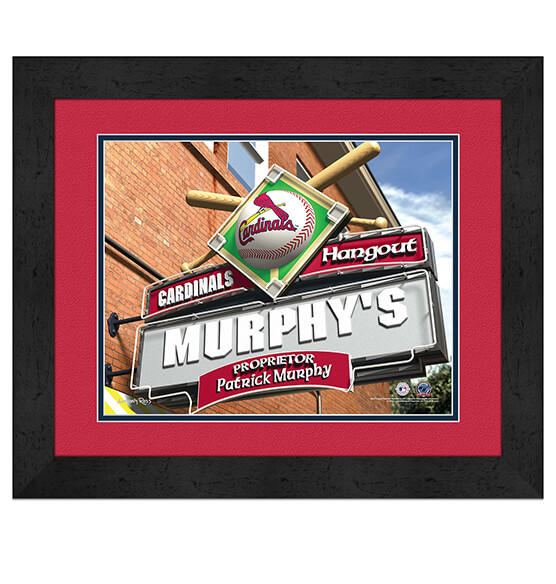 Personalized Pub Sign St. Louis Cardinals