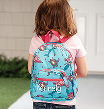 Books & Education - Personalized Mini Mermaid Backpack