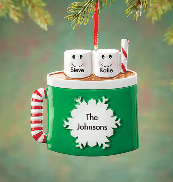 Personalized Cocoa Mug Family Ornament