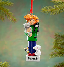 Gifts for the Pet Lover - Personalized Crazy Cat Person Ornament