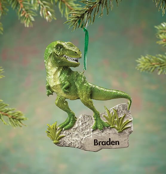 Personalized T-Rex Ornament