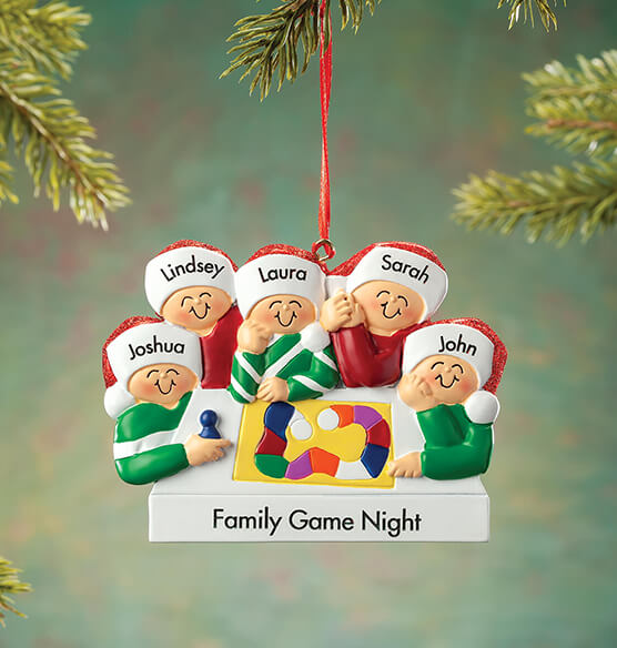 Personalized Game Board Family Ornament