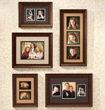 Poplar Photo Frame Collection