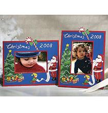 2008 Handpainted Christmas Frame